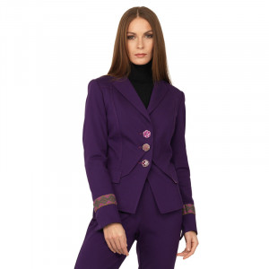 Blazer Taylor Purple